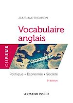 Download this eBook Vocabulaire anglais - 5e éd.