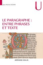 Download this eBook Le paragraphe : entre phrases et texte