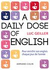 Télécharger le livre :  A daily dose of English