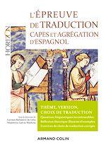 Téléchargez le livre :  L'épreuve de traduction - Capes et agrégation d'espagnol