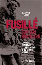 Download this eBook Fusillé sur son brancard