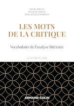 Téléchargez le livre :  Les mots de la critique