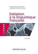 Download this eBook Initiation à la linguistique française - 3e éd.