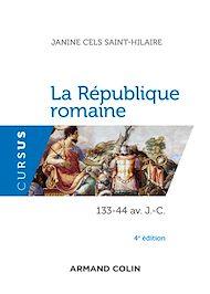 Téléchargez le livre :  La République romaine - 4e éd.