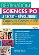 Télécharger le livre : Destination Sciences Po Questions contemporaines 2020 - Le secret - Révolutions