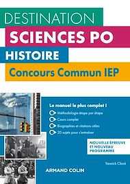 Téléchargez le livre :  Histoire  - Concours commun IEP - 2e éd.