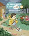 Télécharger le livre :  Opération escargots - Je commence à lire en BD : CE1