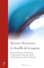 Download this eBook Le Souffle de la sagesse