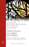 Télécharger le livre :  Charles Journet, une sainteté pour l'Eglise