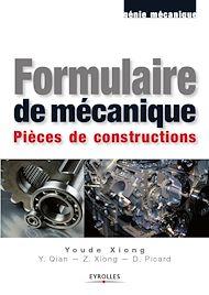 Téléchargez le livre :  Formulaire de mécanique