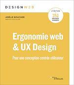 Téléchargez le livre :  Ergonomie web et UX Design, 4e édition