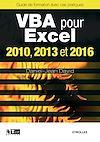 Télécharger le livre :  VBA pour Excel 2010, 2013 et 2016