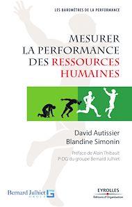 Téléchargez le livre :  Mesurer la performance des ressources humaines