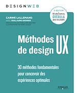 Download this eBook Méthodes de design UX