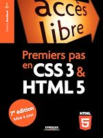 Download this eBook Premiers pas en CSS3 et HTML5