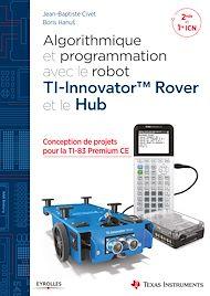 Téléchargez le livre :  Algorithmique et programmation avec le robot TI-Innovator TM Rover et le Hub