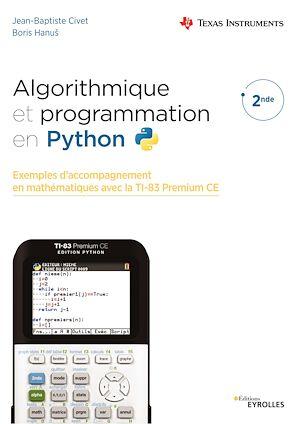 Téléchargez le livre :  Algorithmique et programmation en Python