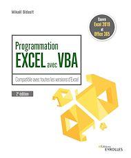 Téléchargez le livre :  Programmation Excel avec VBA