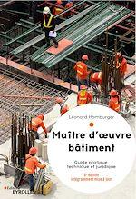Téléchargez le livre :  Maître d'oeuvre bâtiment