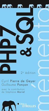 Téléchargez le livre :  PHP 7 et SQL