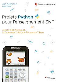 Téléchargez le livre :  Projets Python pour l'enseignement SNT