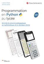 Download this eBook Programmation en Python au lycée