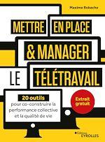 Download this eBook Mettre en place et manager le télétravail