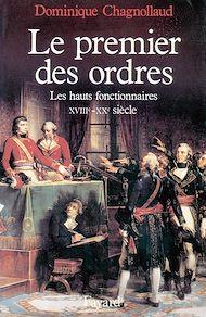 Téléchargez le livre :  Le Premier des Ordres