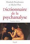 Télécharger le livre :  Dictionnaire de la psychanalyse