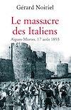 Télécharger le livre :  Le Massacre des Italiens