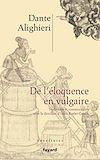 Télécharger le livre :  De l'éloquence en vulgaire