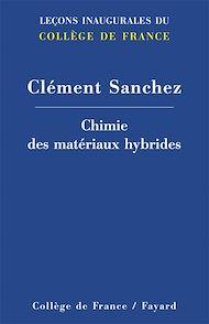 Téléchargez le livre :  Chimie des matériaux hybrides
