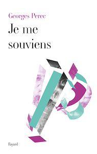 Téléchargez le livre :  Je Me Souviens