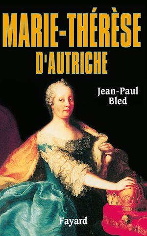 Image de couverture (Marie-Thérèse d'Autriche)