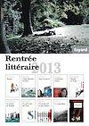 BOOKLET RENTREE LITTERAIRE FAYARD 2013