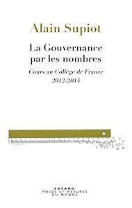 Téléchargez le livre :  La Gouvernance par les nombres