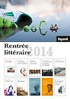 BOOKLET RENTREE LITTERAIRE FAYARD 2014