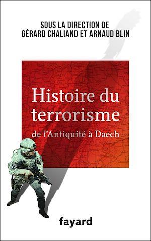 Image de couverture (Histoire du terrorisme : de l'Antiquité à Daech)