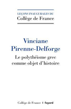 Le polythéisme comme objet d'histoire