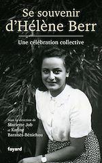 Download this eBook Se souvenir d'Hélène Berr
