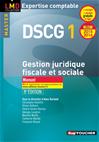 Télécharger le livre : DSCG 1 Gestion juridique fiscale, fiscale et sociale manuel 8e édition Millésime 2015-2016