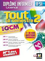 Download this eBook Tout le semestre 2 en QCM - QROC et évaluations IFSI - 2e édition