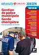 Télécharger le livre : Réussite Concours Gardien de police municipale Garde champêtre Nº33