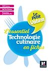 Télécharger le livre :  Le Petit Volum' Technologie culinaire