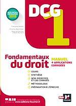 Téléchargez le livre :  DCG 1 - Fondamentaux du droit - Manuel et applications