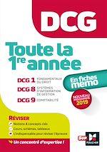 Download this eBook DCG : Toute la 1ère année du DCG 1, 8, 9 en fiches - Révision