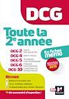 Télécharger le livre :  DCG : Toute la 2è année du DCG 2, 4, 5, 6, 10 en fiches - Révision