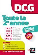 Téléchargez le livre :  DCG : Toute la 2è année du DCG 2, 4, 5, 6, 10 en fiches - Révision