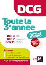 Download this eBook DCG : Toute la 3è année du DCG 3, 7, 11 en fiches - Révision