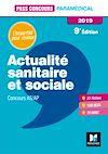 Télécharger le livre :  Pass'Concours Actualité sanitaire et sociale - AS-AP 2019 - Révision et entraînement